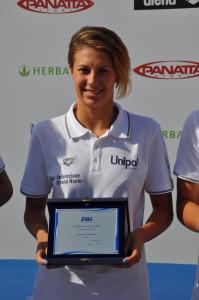 Arianna Castiglioni Team Insubrika Creval - Italia Ph. Swimming Channel