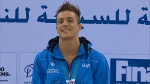 Luca Mencarini - Italia Campione Mondiale Juniores 200 Dorso Dubai 2013