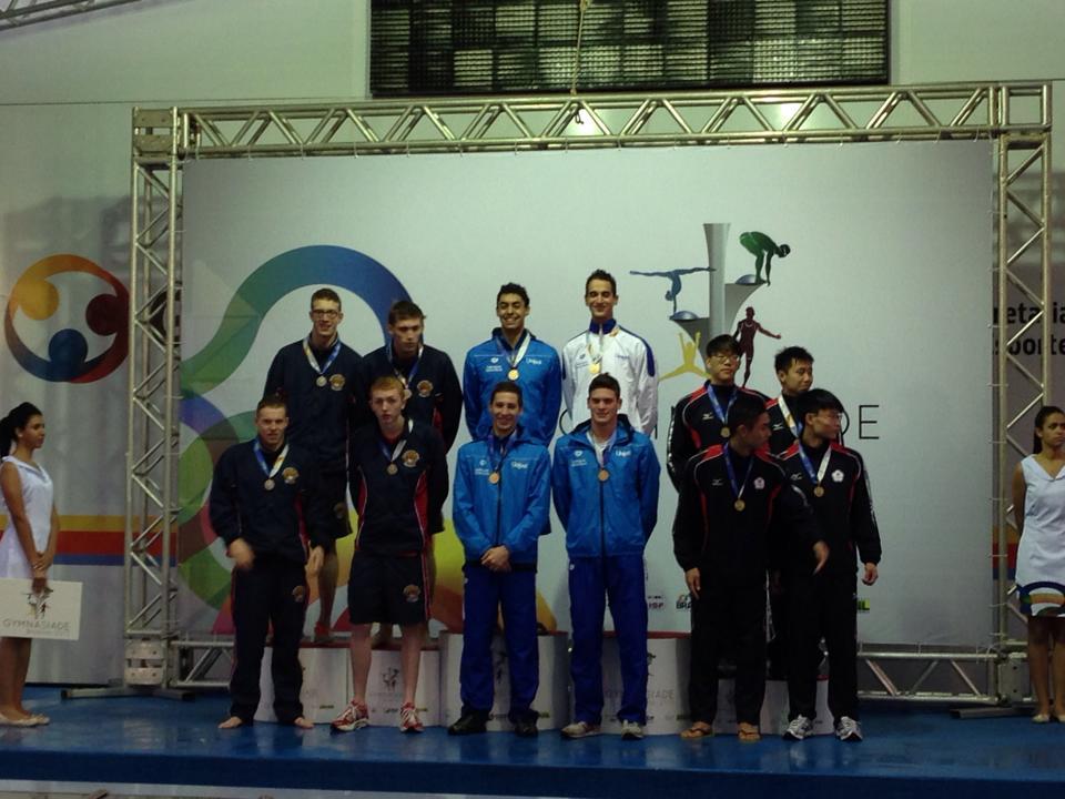 4x100 Stile Libero Italia Nicolangelo Di Fabio-Simone Sabbioni-Alessandro Bori-Raffaele Tavoletta