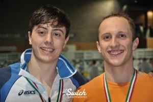 Lorenzo Tarocchi e Riccardo MAestri - Ph. Swimming Channel
