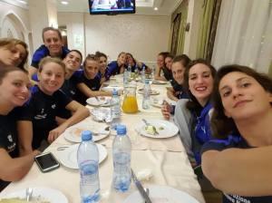 Francesca Deidda e squadra nazionale