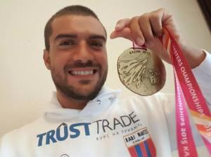 Cesare Floris - Campione Mondiale 3km M30