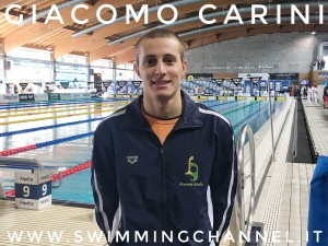 Giacomo Carini - ph. iSwim Shop - Swimming Channel