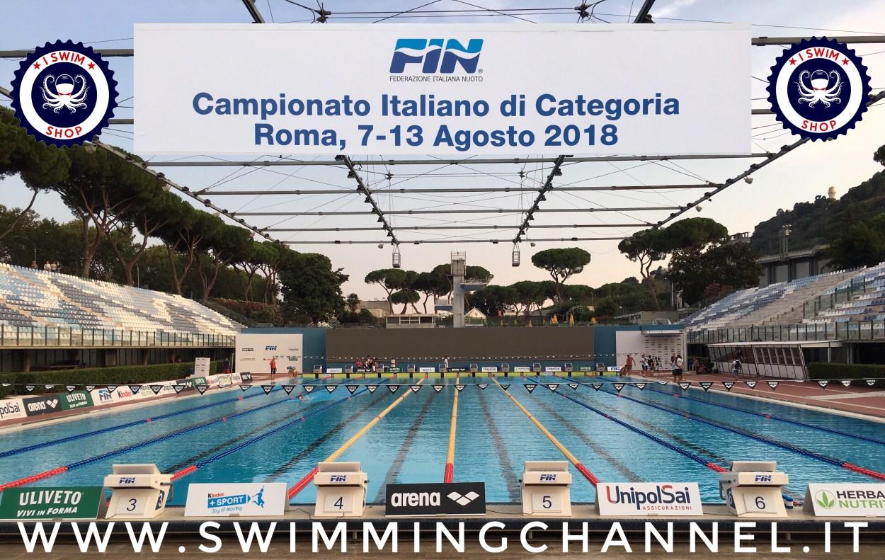 Categoria estivi 2018 - copertina - stadio del nuoto roma