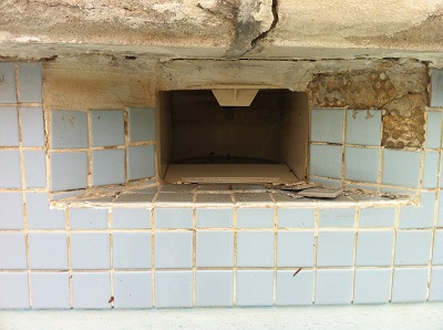 how to fix tiles in a swimming pool
