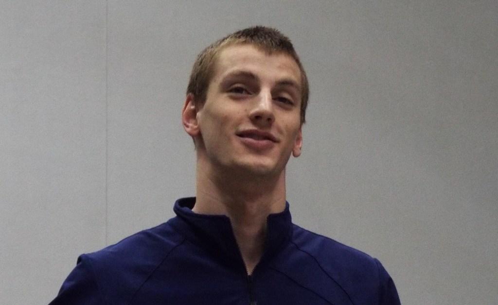 Andrew Wilson podium, Emory