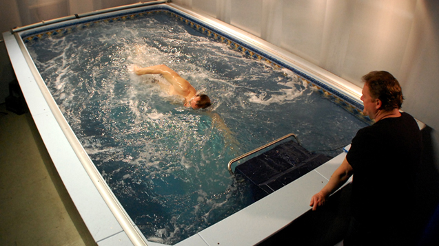 U.S. Olympic Training Center Adds Endless Pool - Swimming ...