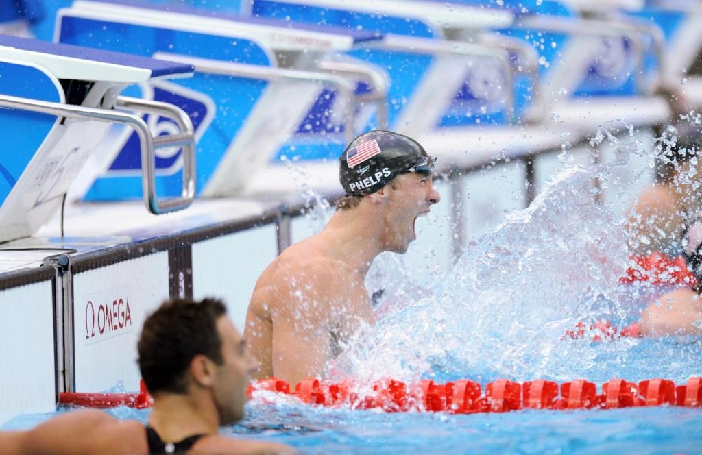 Michael Phelps at 2008 Olympics