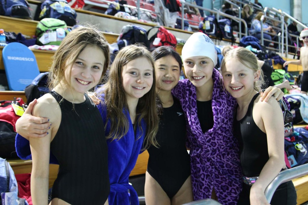 north baltimore swimmers at cerave invitational
