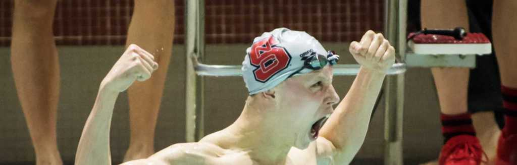 Anton Ipsen after the Men's 100 Freestyle.