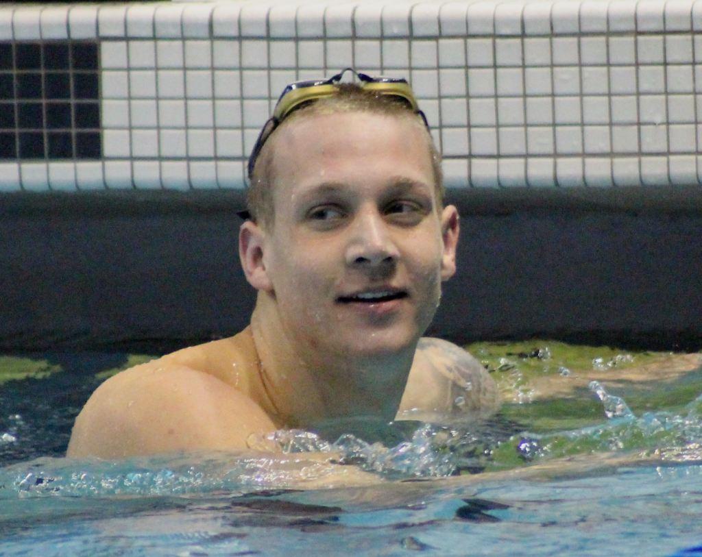 Caeleb Dressel NCAA champion