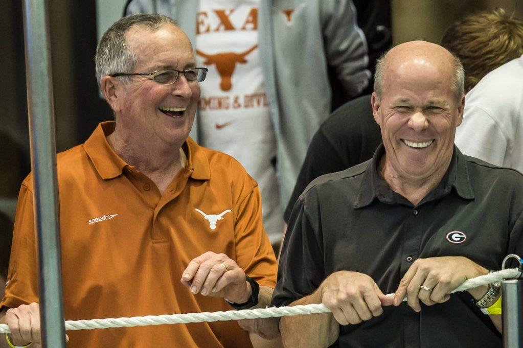 Swim coach: eddie-reese-texas-jack-bauerle-georgia-