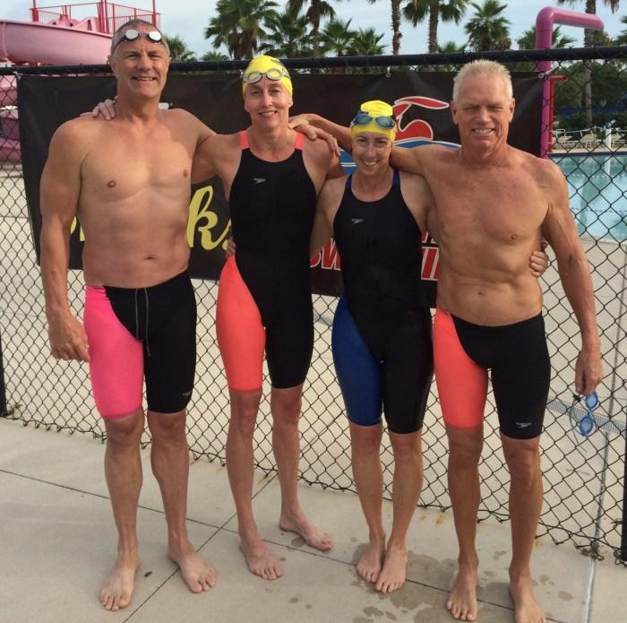 Sarasota Masters relay record