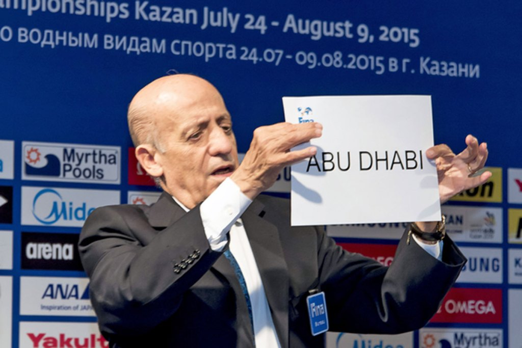 FINA awards short course world championships to Abu Dhabi