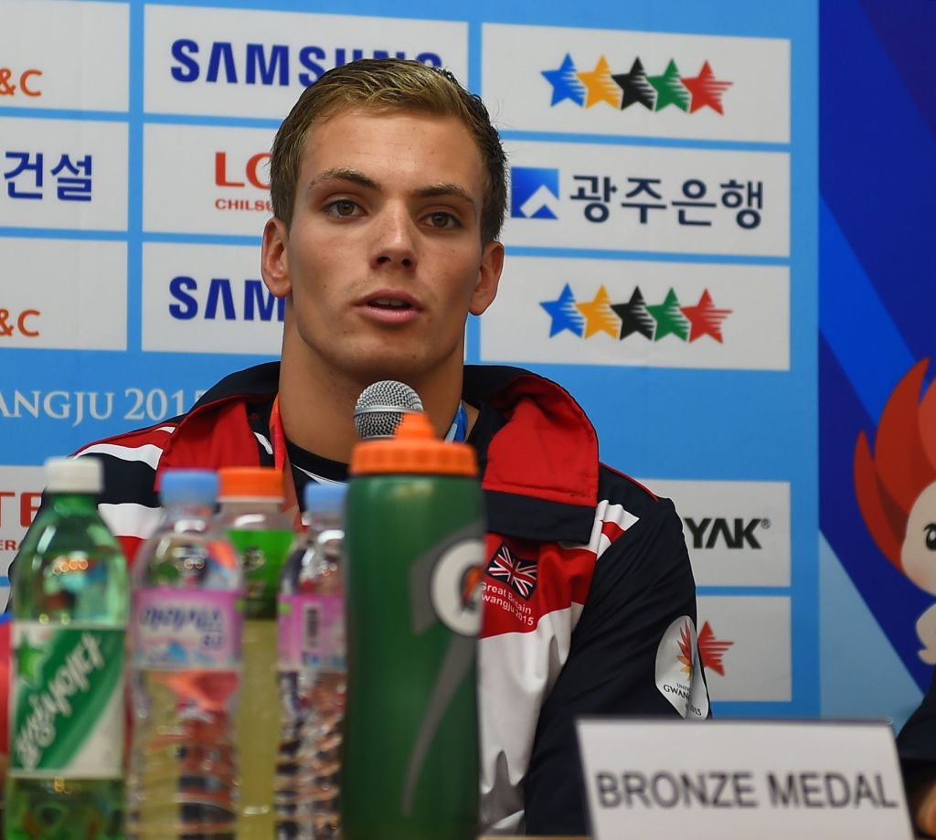 Craig Benson World University Games Gwangju 2015