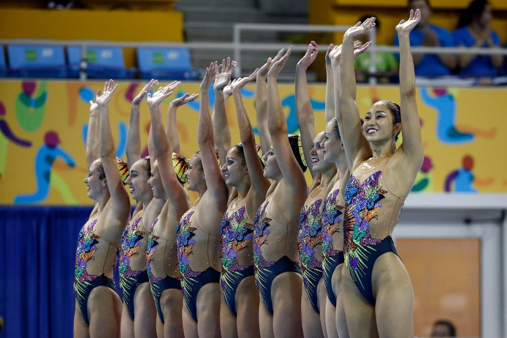 synchronized swimming United States team