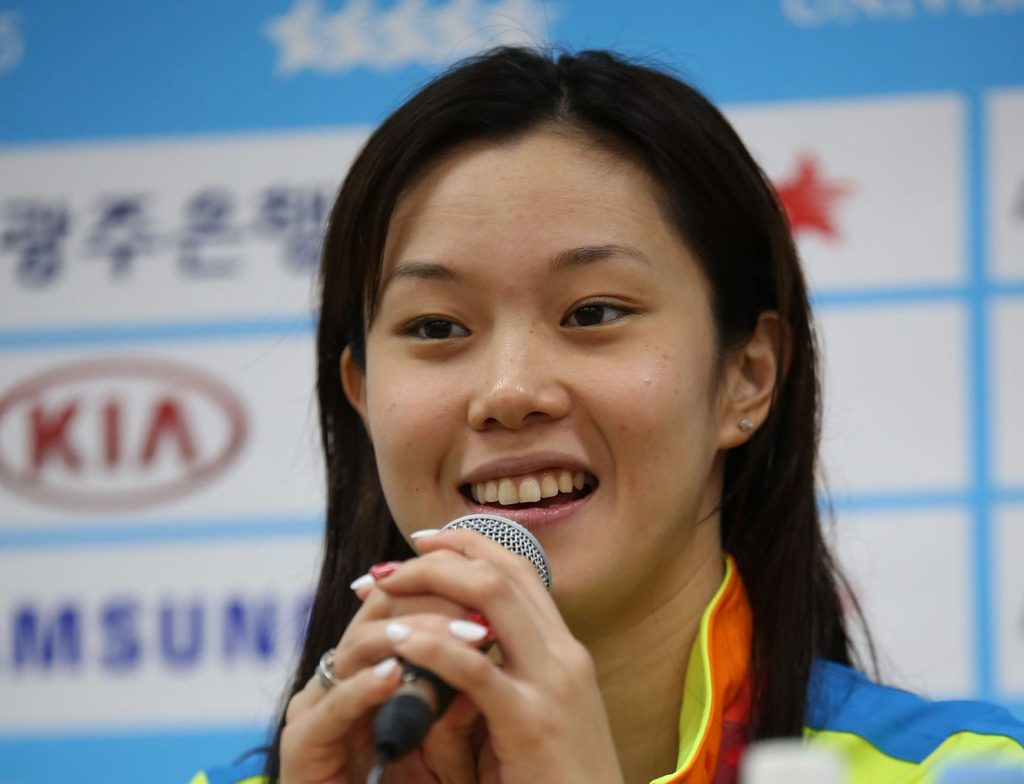 Stephanie Au World University Games 2015