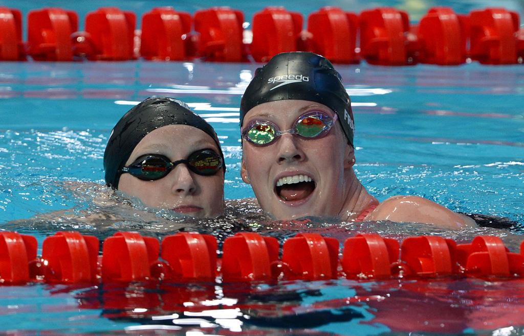 FINA World Championships Katie Ledecky Missy Franklin