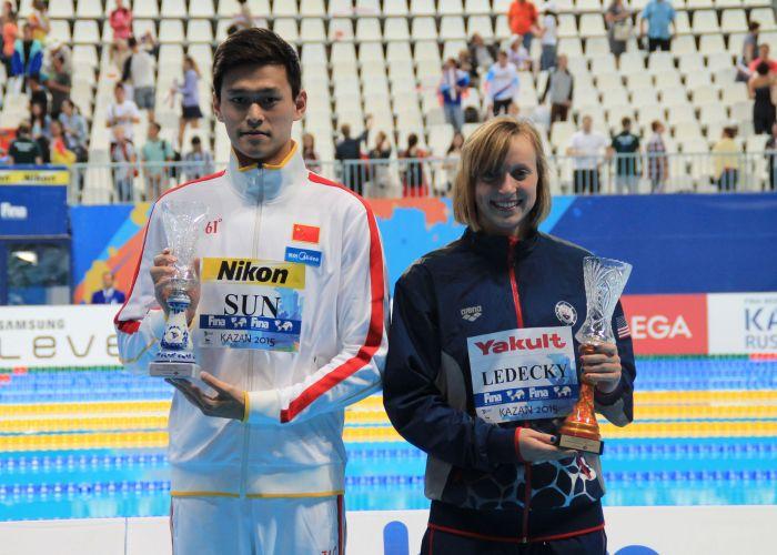 katie-ledecky-sun-yang-swimmer-of-the-meet-2015 (3)