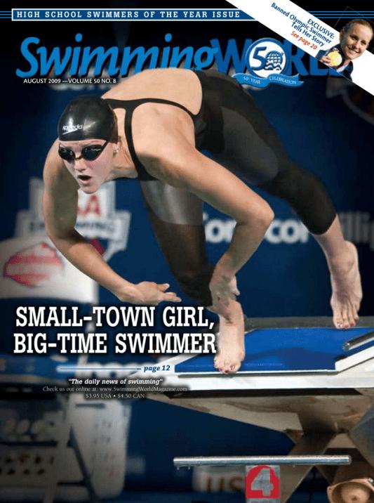 swimming-world-magazine-august-2009-cover