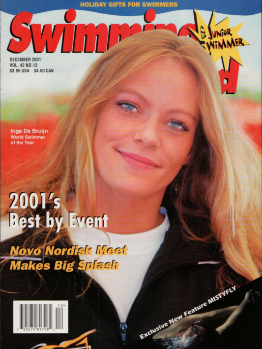 swimming-world-magazine-december-2001-cover