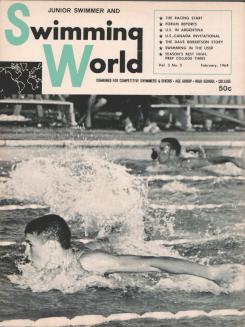 swimming-world-magazine-february-1964-cover