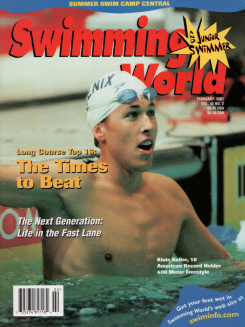 swimming-world-magazine-february-2001-cover