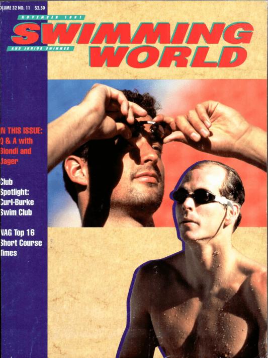 swimming-world-magazine-november-1991-cover