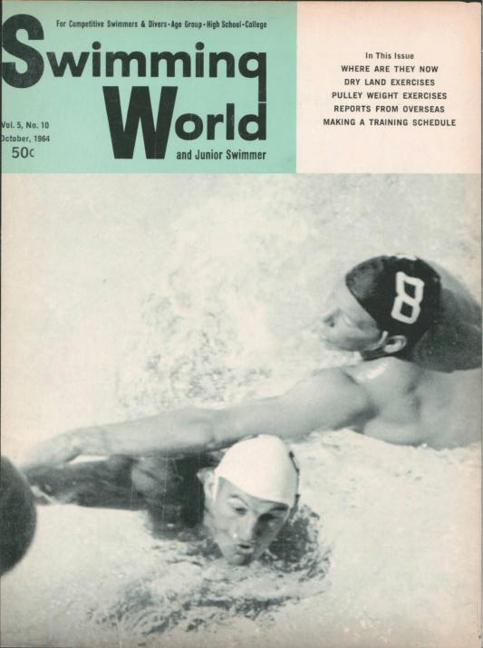 swimming-world-magazine-october-1964-cover