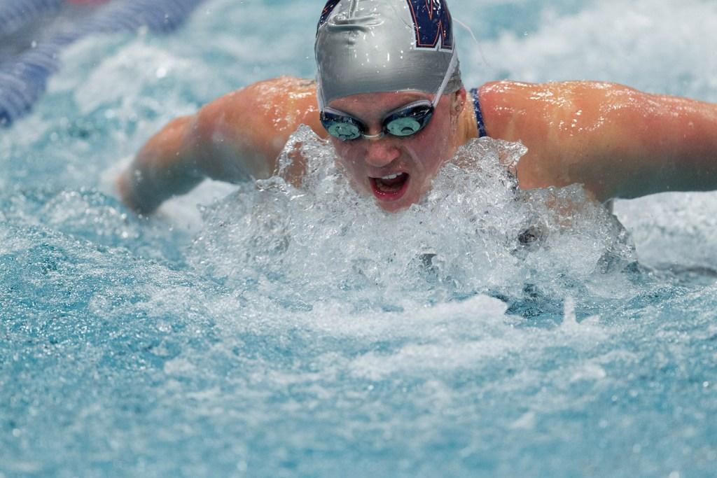 Wheaton College 2015 Swimming Invitational, Friday Prelims, December 4, 2015