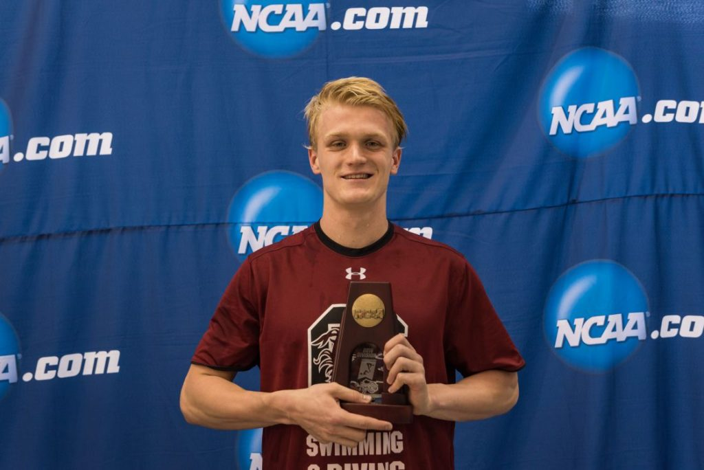 2016.03.25 NCAA Mens Swimming Championships_South Carolina Nils Wich-Glasen