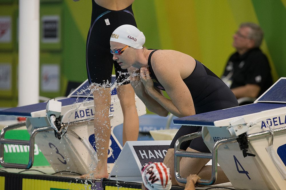 swims in the 2016 Australian Swimming Championships, Day 3 at the SA Aquatic & Leisure Centre in Adelaide on Monday, April 11, 2016 in Sydney, Australia. (Photo by Steve Christo)