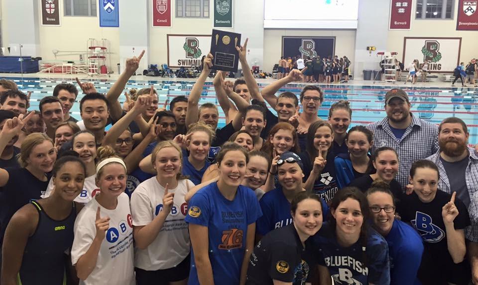 bluefish swim club champions new england