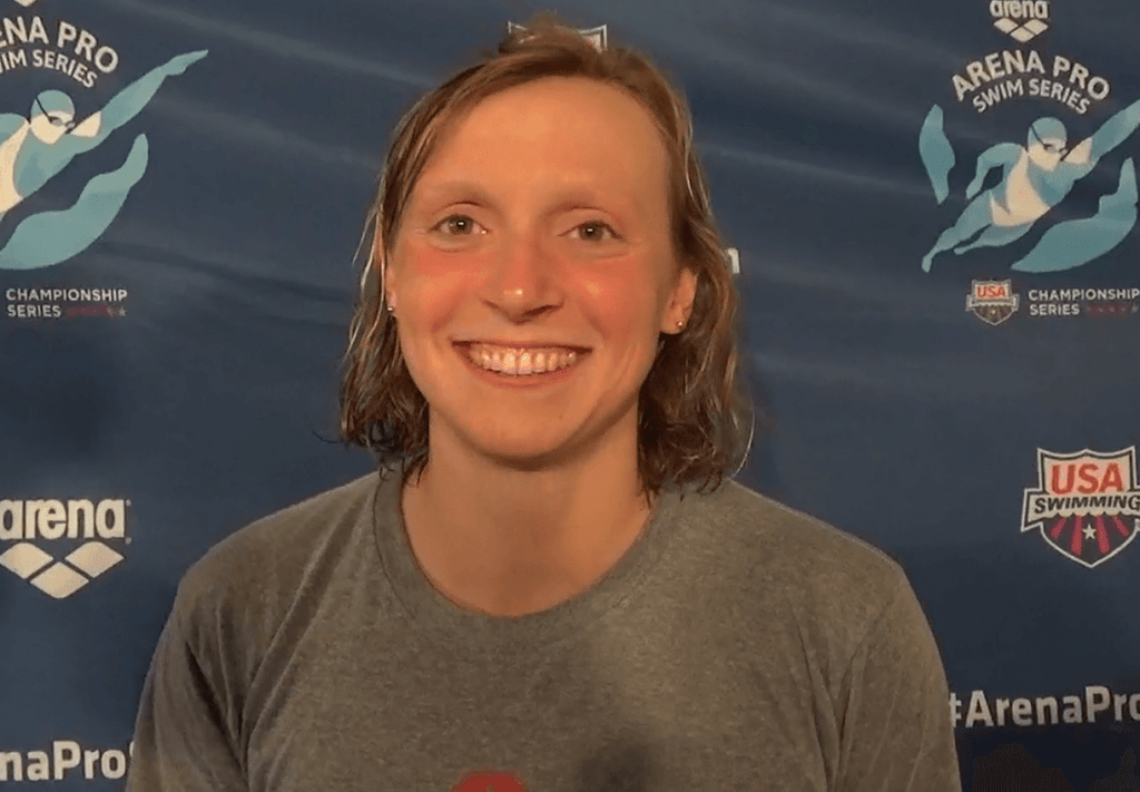 (Video Interview) Katie Ledecky Returns to Long Course ...