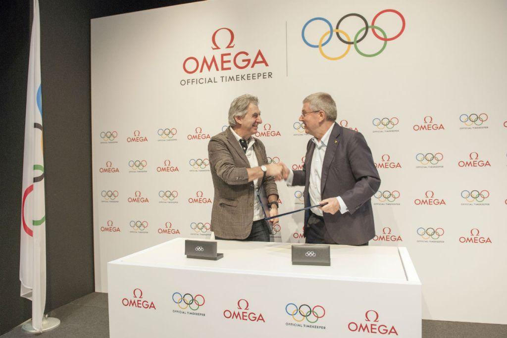 thomas-bach-ioc-omega-extend-partnership
