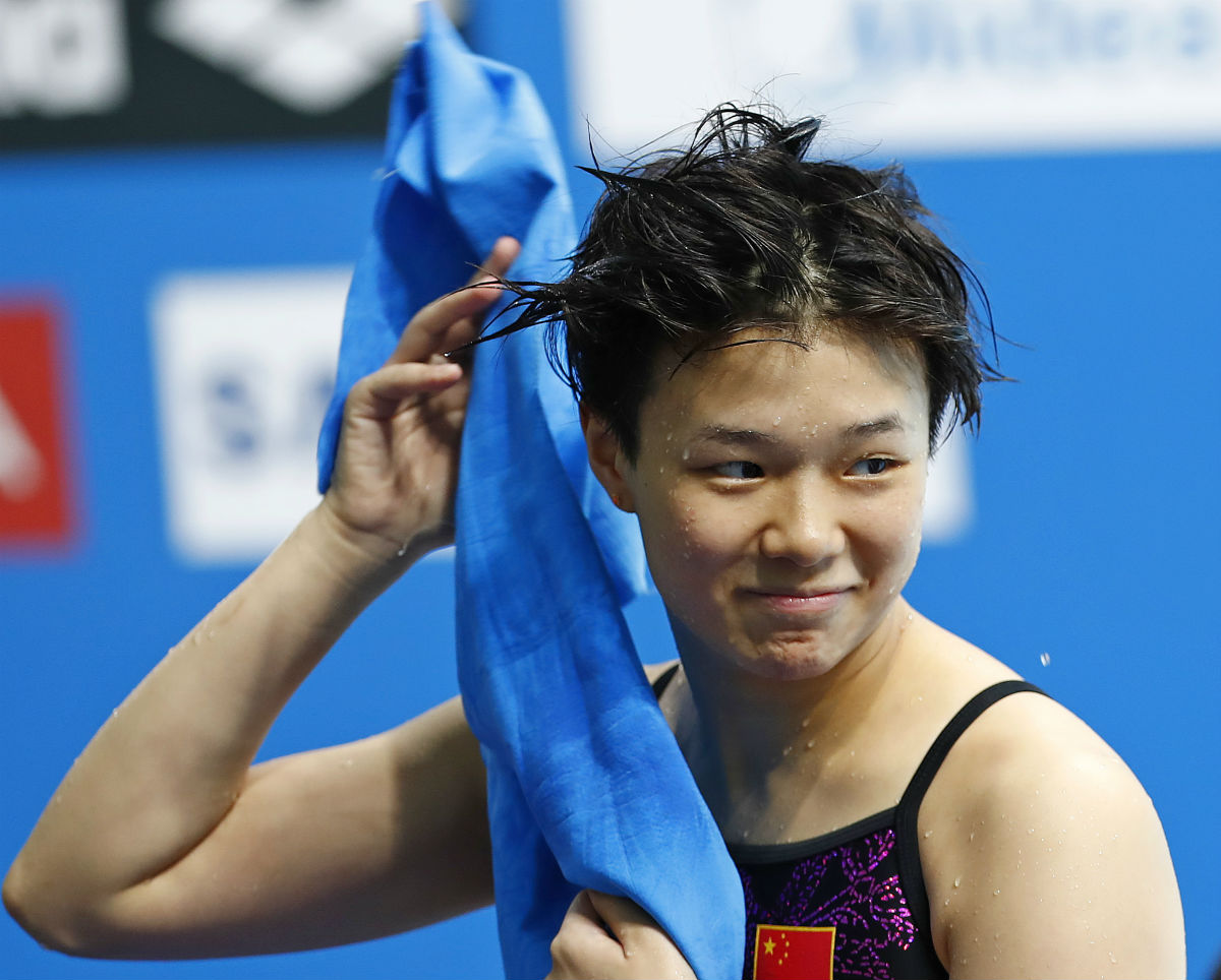 Shi Tingmao Dominates Women's 3m Diving on Seventh Day of World Championships