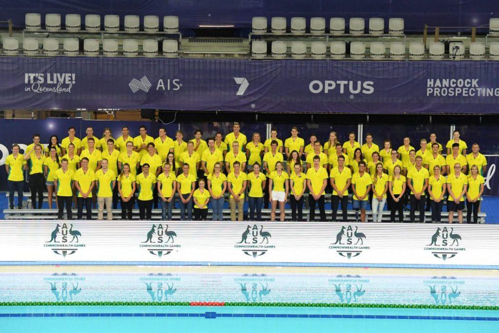 swimming-australia-commonwealth-games-team