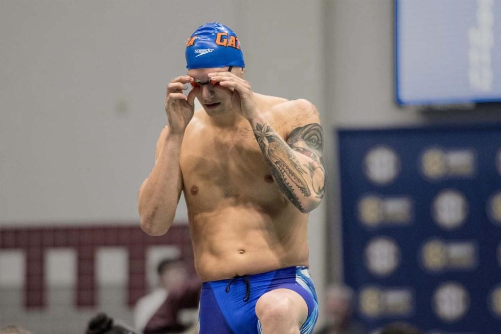 caeleb dressel, sec championships, men's ncaa division I swimming