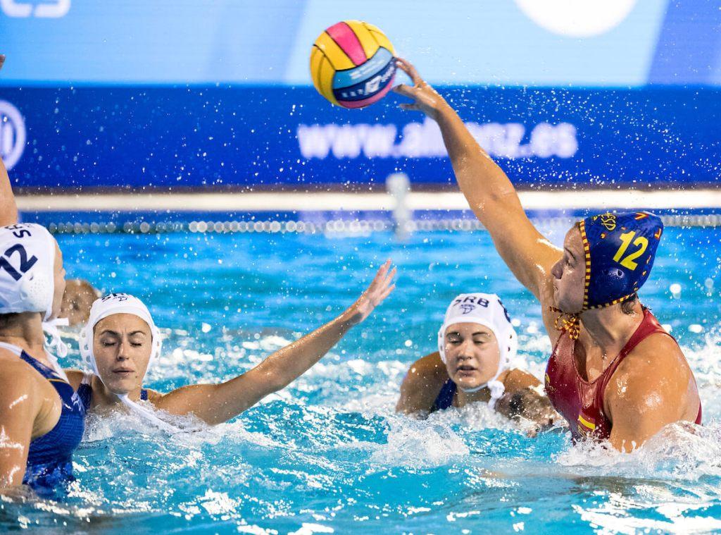 womens-water-polo-european-spain-serbia