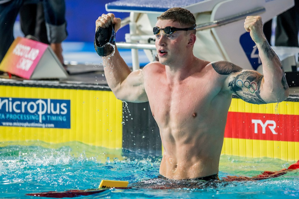 PEATY Adam GBR Gold Medal 50m Breaststroke Finals Glasgow 08/08/18 Swimming Tollcross International Swimming Centre LEN European Aquatics Championships 2018 European Championships 2018 Photo Andrea Masini/ Deepbluemedia/Insidefoto