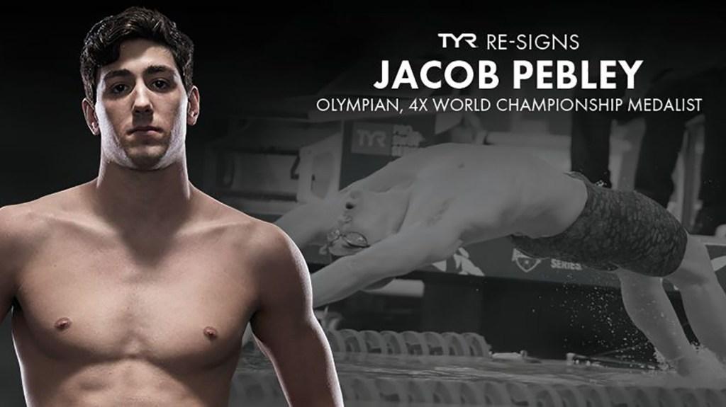 Jacob Pebley Resigns TYR Sport