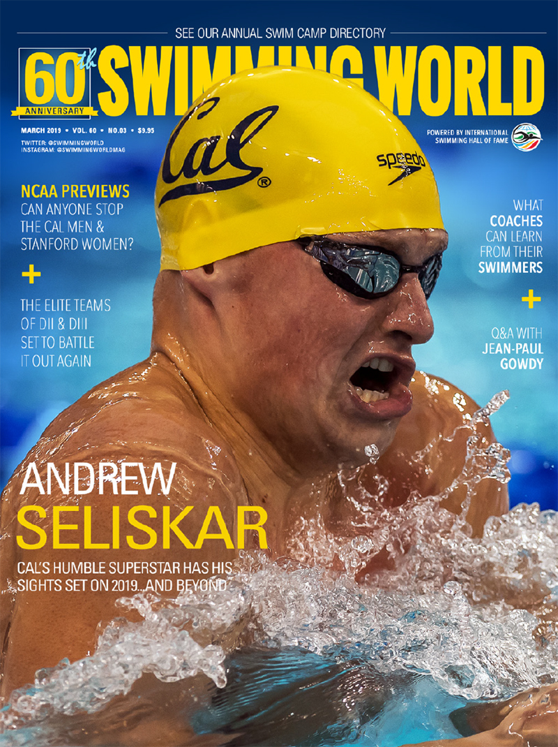 Swimming World Magazine March 2019 Issue - PDF ONLY