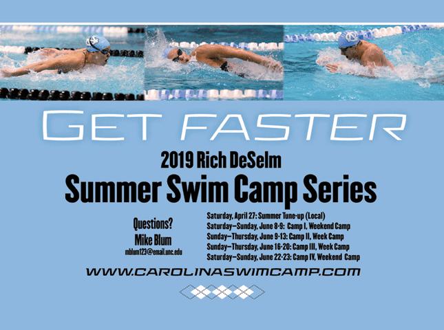2019 Carolina Swim Camp