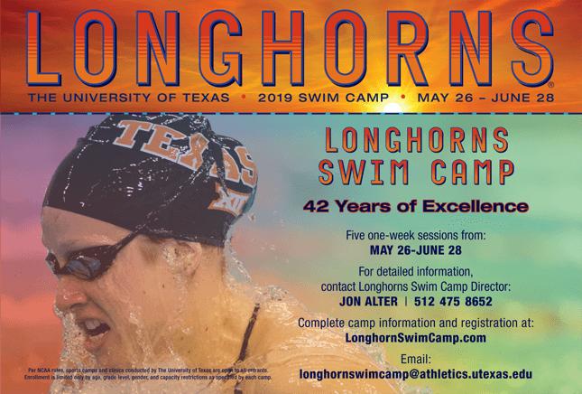 2019 Longhorns Swim Camp