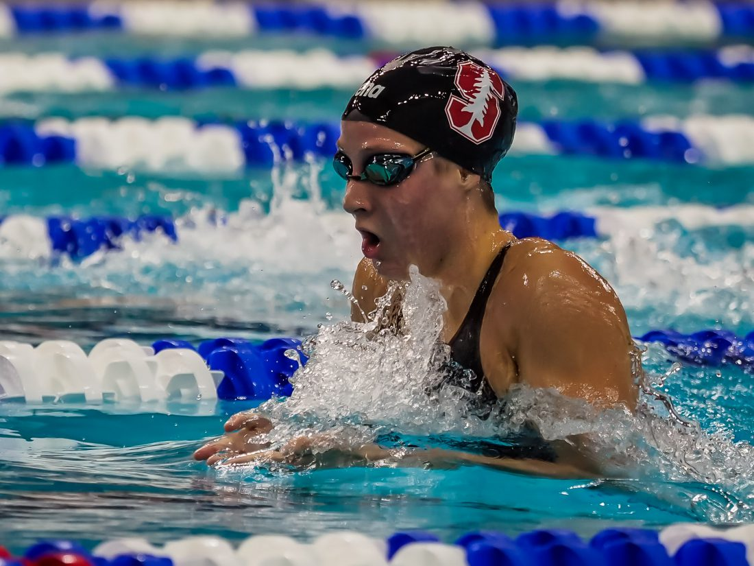 Isabelle Odgers Top Seed in 400 IM; Stanford's Forde Lurking at Pac-12s