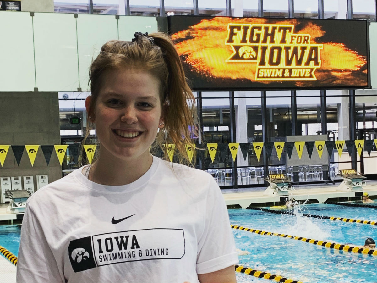 Iowa Hawkeyes Bring In 2020 Verbal Commitment from Alyssa Graves - Swimming World News