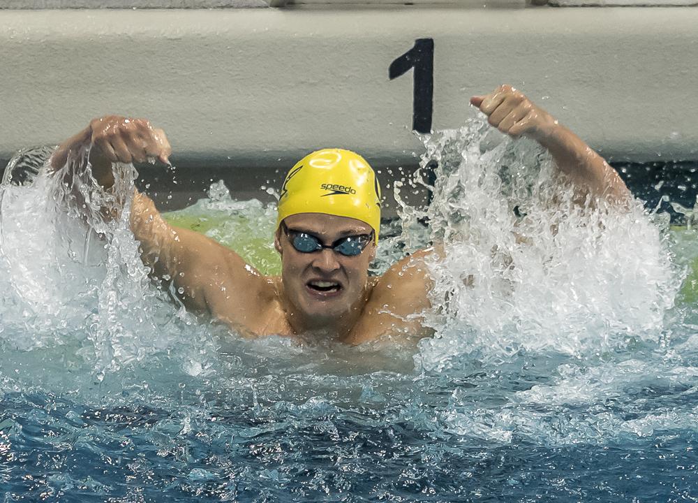 daniel carr 100 Backstroke, 2019 NCAA Division I Men's Championship, Carr Daniel, Day 3 prelims, Re-swim