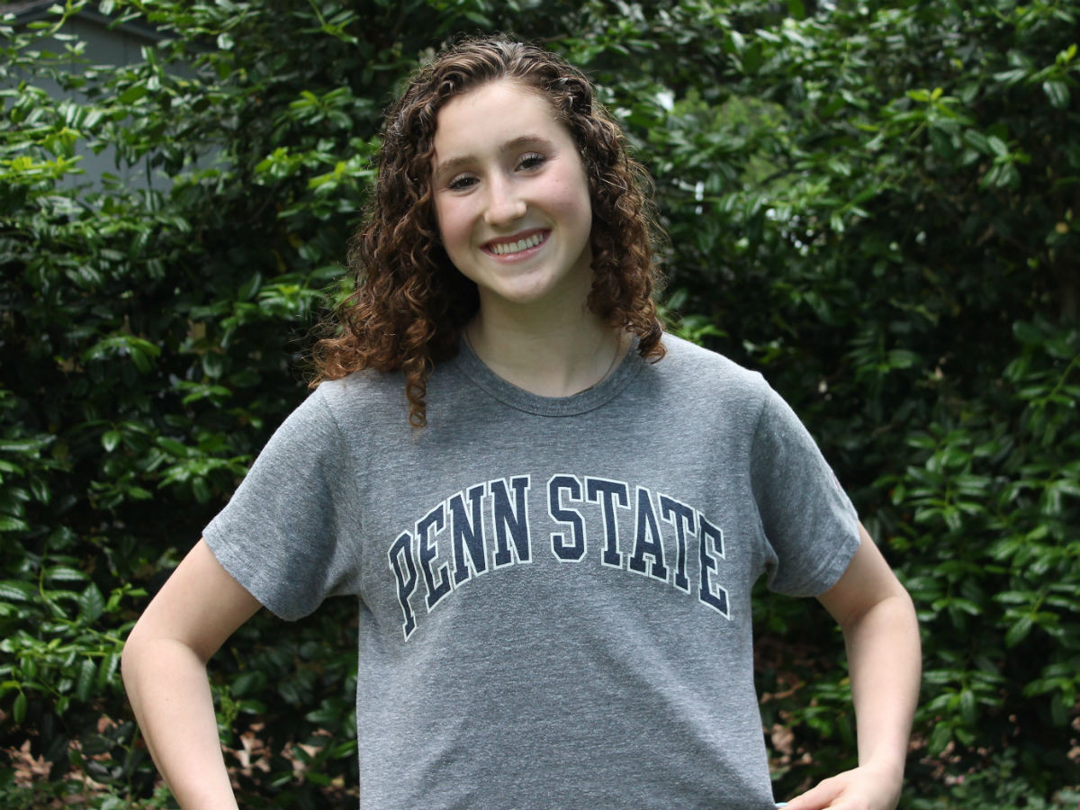 Lizzie Danforth Will Become a Nittany Lion With 2020 Verbal to Penn State - Swimming World News