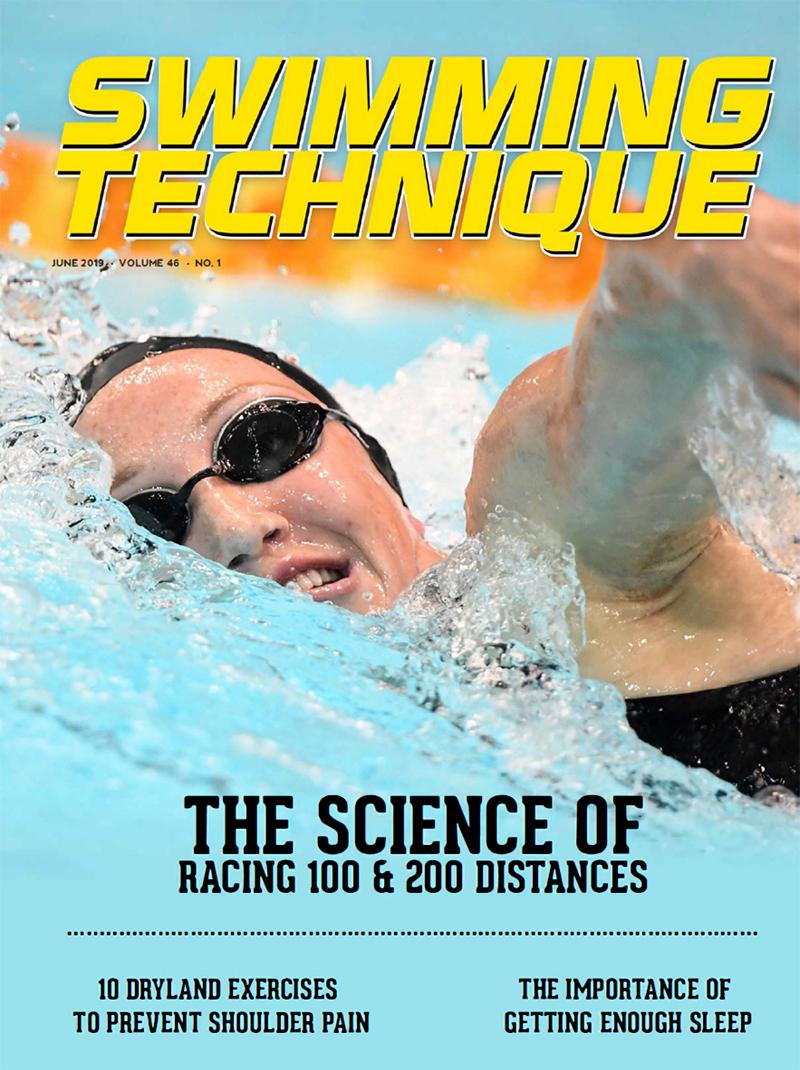 Swimming Technique June 2019 Cover