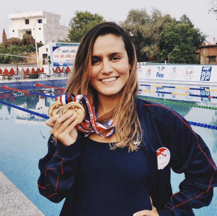 sofia-shah-meet-medal-Nepal